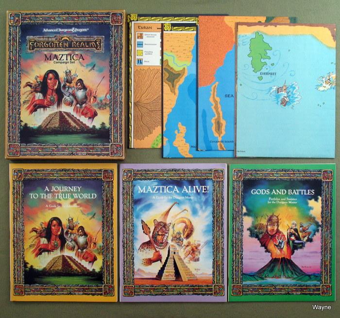 Forgotten Realms - Maztica setting - Advanced Dungeons & Dragons