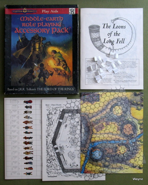 Middle Earth Role Playing (MERP) - Wayne's Books RPG Reference