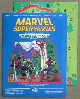 MA / MH module series - Marvel Super Heroes - Wayne's Books