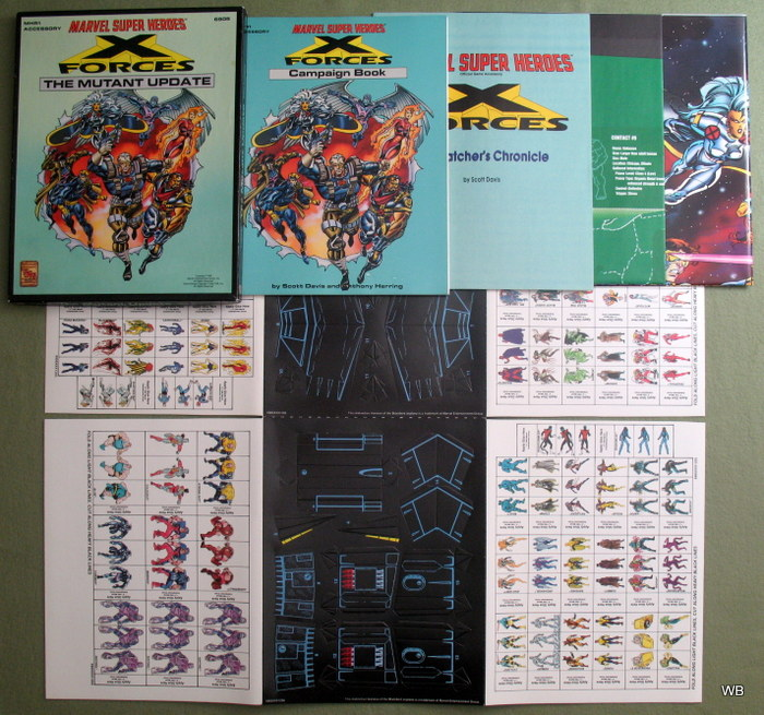X-Forces: The Mutant Update (Marvel Super Heroes accessory MHR1), Anthony Herring