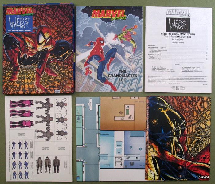 Marvel Super Heroes - TSR - Wayne's Books RPG Reference