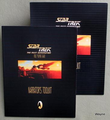 Star Trek: Last Unicorn Games & Decipher - Wayne's Books RPG