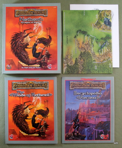 Forgotten Realms - Arcane Age / Netheril - Advanced Dungeons