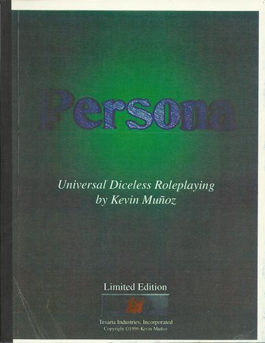 Persona: Universal Diceless Roleplaying