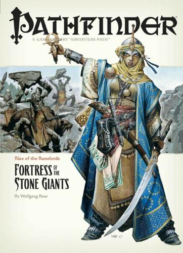 Pathfinder #4 Rise Of The Runelords: Fortress Of The Stone Giants, Baur, Wolfgang