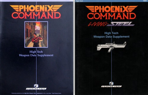 Phoenix Command Small Arms Combat System - Wayne's Books RPG