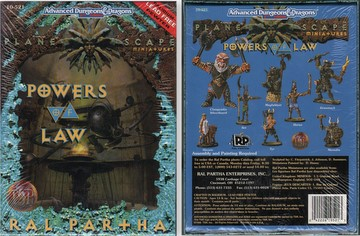 Powers of Law: Planescape Miniatures