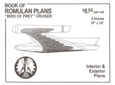 Romulan Bird of Prey Blueprints
