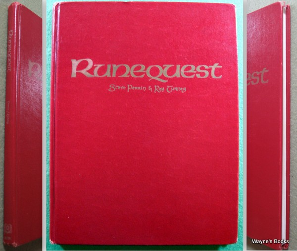 Runequest, 2nd edition HARDCOVER, Steve Perrin & Greg Stafford & Ray Turney