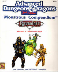Ravenloft Monstrous Compendium Appendix II: Children of the Night (Advanced Dungeons & Dragons, 2nd Edition)
