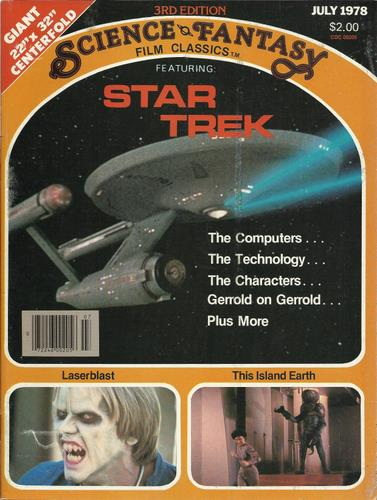 Science Fantasy Film Classics: Featuring Star Trek (July 1978)