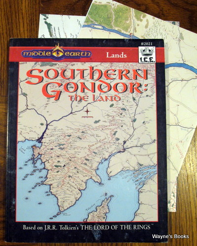 Southern Gondor: The Land (Middle Earth Role Playing/MERP)