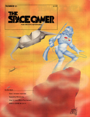 The Space Gamer Magazine, Issue 21