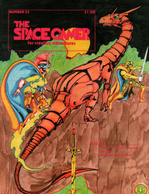The Space Gamer Magazine, Issue 23