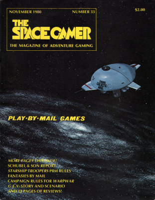 The Space Gamer Magazine, Issue 33