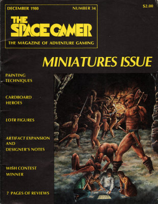 The Space Gamer Magazine, Issue 34