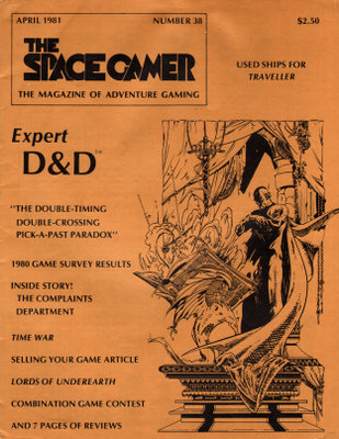 The Space Gamer Magazine, Issue 38
