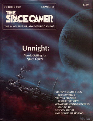 The Space Gamer Magazine, Issue 56
