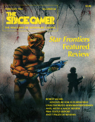 The Space Gamer Magazine, Issue 60