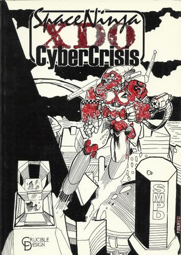 Space Ninja Cyber Crisis XDO