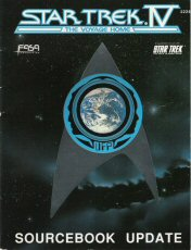 Image for Star Trek IV - The Voyage Home: Sourcebook Update (Star Trek RPG)