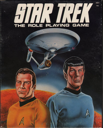 Star Trek Roleplaying Fasa Waynes Books Rpg Reference