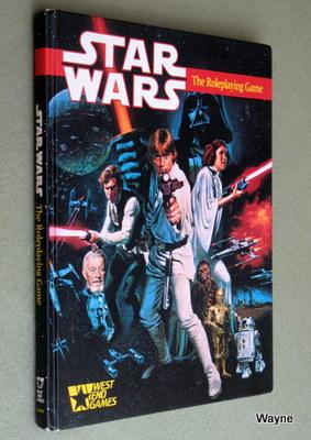 Star Wars RPG - D6 Roleplaying - West End Games - Wayne's