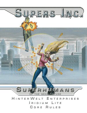 Supers Inc: Superhumans of the Near Future (Iridium Lite)