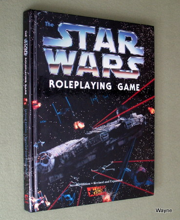 Star Wars RPG - D6 Roleplaying - West End Games - Wayne's