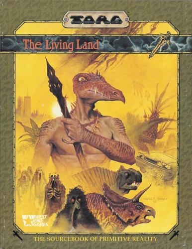 Image for The Living Land: The Sourcebook of Primitive Reality (TORG)