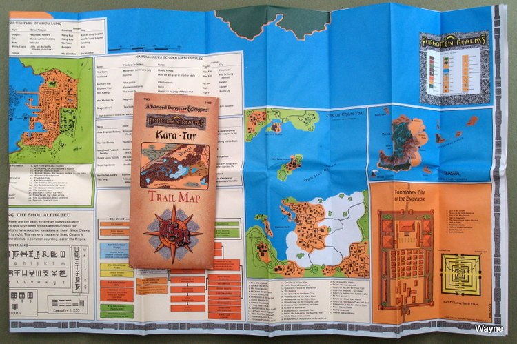 Oriental Adventures/Kara-Tur (AD&D) - Wayne\'s Books RPG Reference