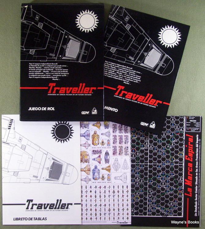 Traveller: Juego de Rol, Marc Miller & Jaime Molina