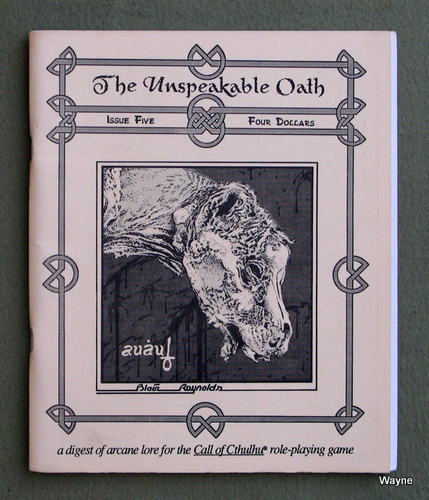 Unspeakable Oath - Call of Cthulhu - Wayne's Books RPG Reference