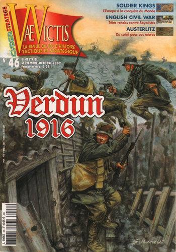 Vae Victis: La Revue du Jeu D'Histoire Tactique et Strategique #46 (Verdun 1916)
