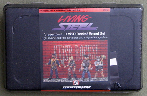 Vissertown: KViSR Rocks! Boxed Set (Living Steel)