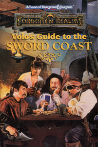 Forgotten Realms Volo's Guides - Advanced Dungeons & Dragons