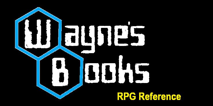 Gamma World Wayne S Books Rpg Reference