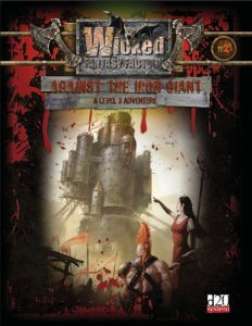 Image for Against the Iron Giant (Wicked Fantasy Factory: D20 System)