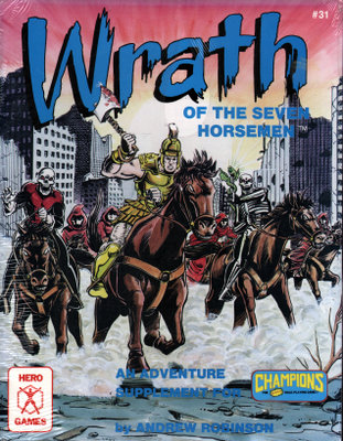 Wrath of The Seven Horsemen (Champions Role Playing Game), Andrew Robinson